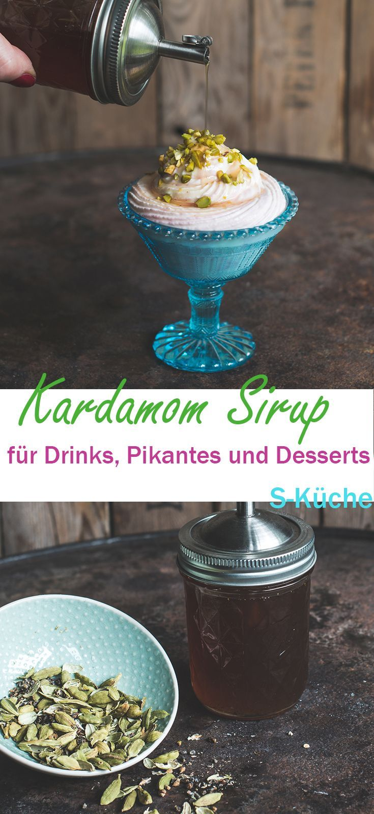 Rezept für aromatischen Kardamom Sirup - meine 1001 Nacht Allzweckwaffe