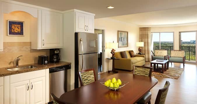 hotels with full kitchens in orlando florida drop leaf kitchen island parc soleil suites by hilton grand vacations fl suite