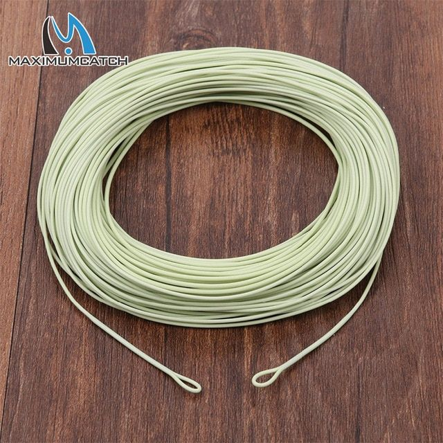 Maximumcatch 100ft 1 2 3 4 5 6 7 8wt Weight Forward Floating Fly Fishing Line With Welded Loops Fly Line Review Fly Fishing Line Fly Fishing Fishing Line