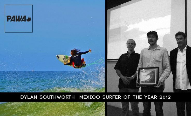 Dylan Southworth, Mexico's Surfer of the Year. Congrats Buddy...