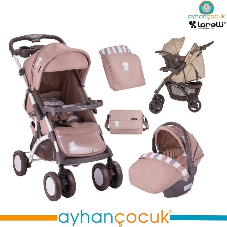 Lorelli Apollo Travel Sistem Bebek Arabası - Ayhan Çocuk   Anne ve Bebek Ürünleri Mağazası - Kampanyalar