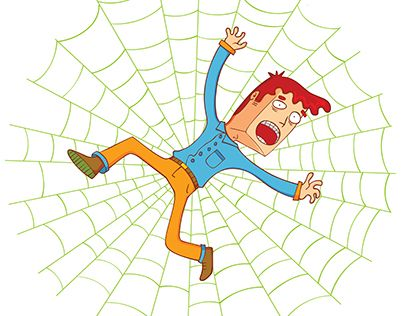 "Check out new work on my @Behance portfolio: ""on spider web"" http://be.net/gallery/46000971/on-spider-web"