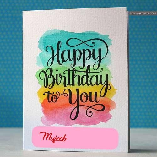 Birthday Greeting Card With Name Wishes Pictures Sent With Images