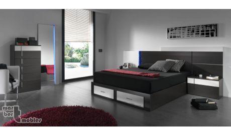 Dormitorio con canapé abatible 13 Lance