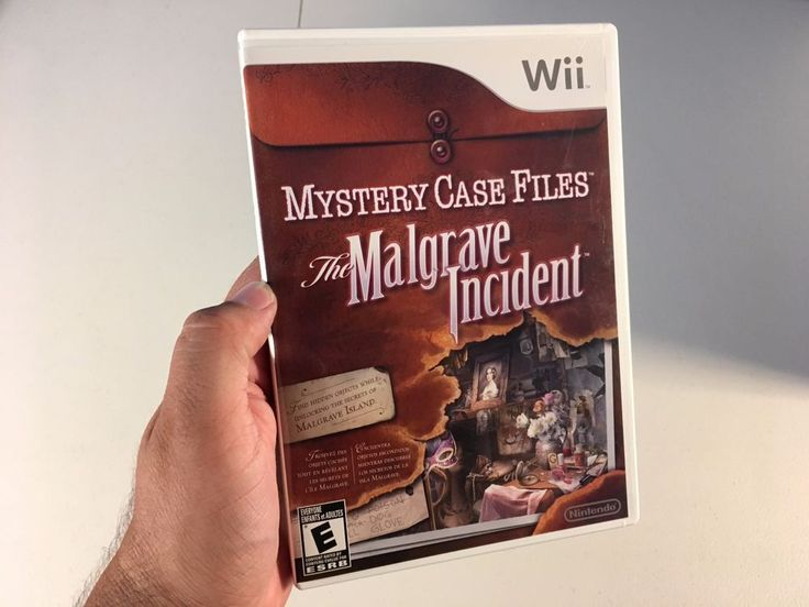 Mystery Case Files: The Malgrave Incident - Nintendo Wii & Wii U Game Rare