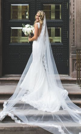 Pnina Tornai 4180 wedding dress, currently for sale at 46% off the retail price.