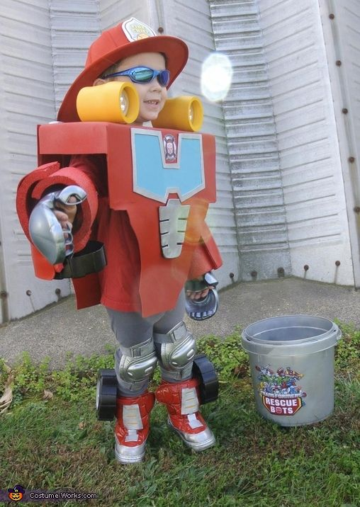 Rescue Bot Costume ~ Heatwave (Would be nice for Birthday Photo Opp)....PLUS Other costume Ideas and DIY Costumes