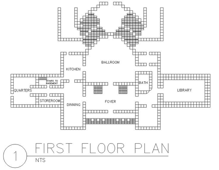 Best 25 blueprints for houses ideas on pinterest for Mansion floor plans with ballroom