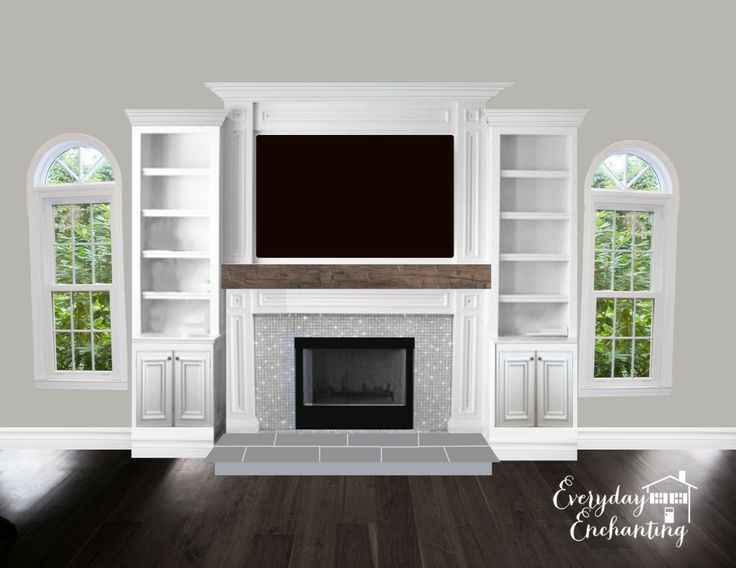 468 Best Images About Fireplaces Built Ins On Pinterest Fireplace Design House Of Turquoise