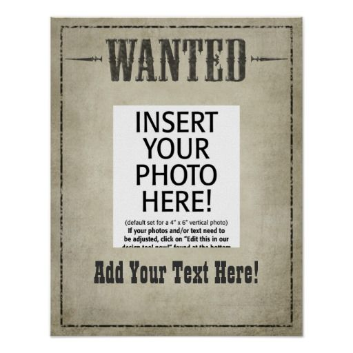 Champlain College Publishing  Most Wanted Posters Templates