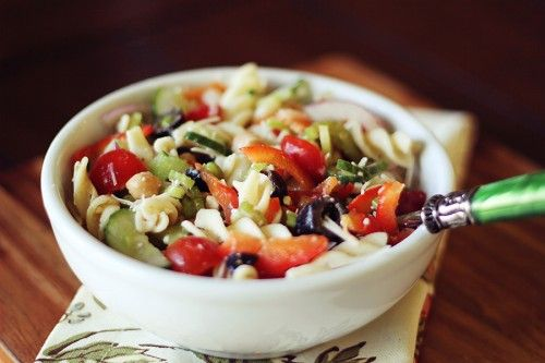 Healthy Pasta Salad - making this!