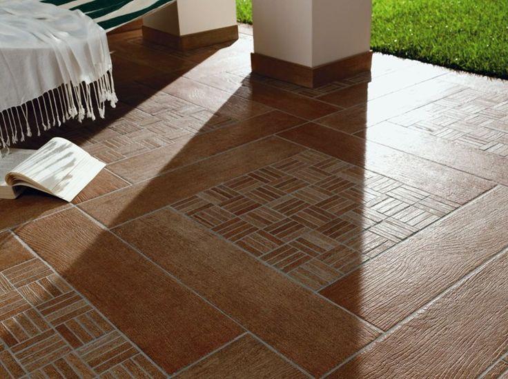 Revestimiento de pared suelo de gres porcel nico imitaci n madera para interiores y exteriores - Suelos madera interior ...