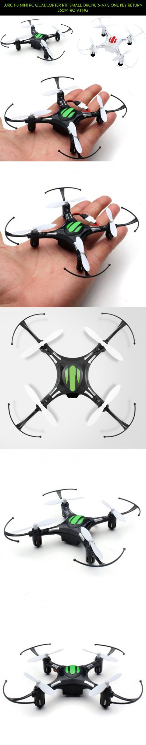 JJRC H8 Mini RC Quadcopter RTF Small Drone 6-axis One Key Return 360° Rotating #tech #technology #gadgets #kit #parts #fpv #products #drone #small #jjrc #racing #shopping #drone #plans #camera