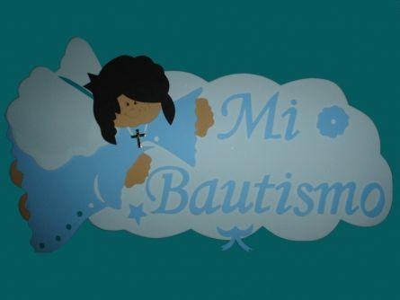 cartel goma eva angelito volando mi bautismo para nenes | CARTELES ...