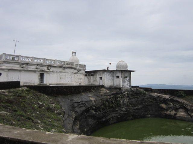 Hill top Jain temple