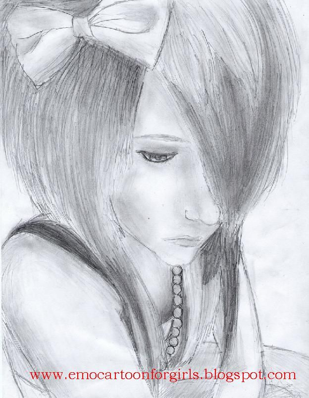 Emo Drawing Art Drawings Tips With Wallpapers Pinterest