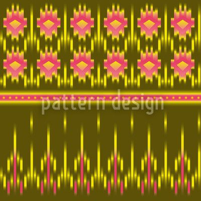 Multicultural Ikat created by Martina Stadler offered as a vector file on patterndesigns.com