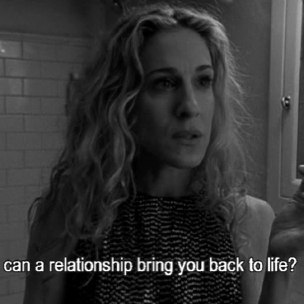 Carrie bradshaw sex and the city quotes