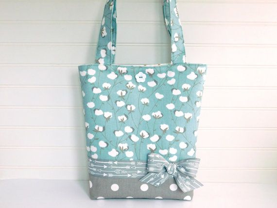 Toddler Tote Bag Little Girls Tote Bag by BerkshireCollections