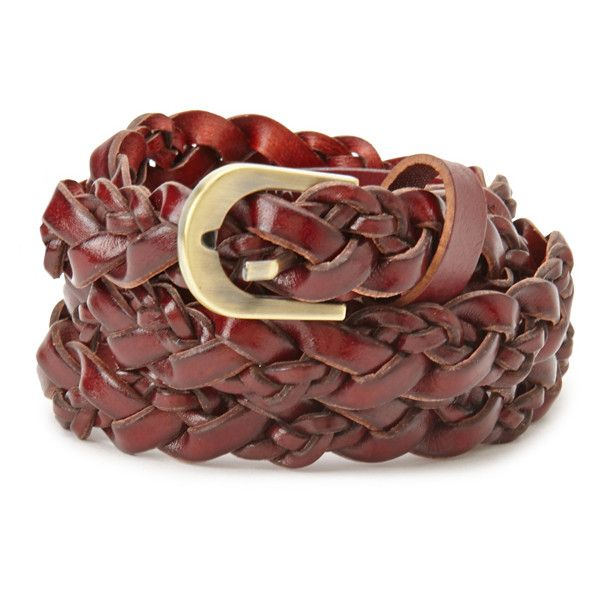 Forever 21 Faux Leather Braided Belt ($7.90) ❤ liked on Polyvore featuring accessories, belts, lightweight belt, vegan belts, forever 21, loop belt and forever 21 belts