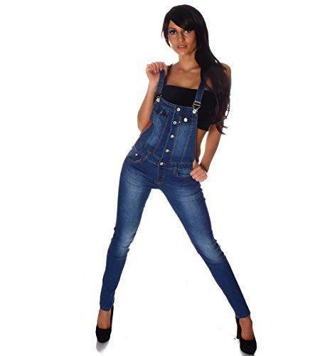 #10694 #Fashion4Young #Damen #Latzhose #Hose #pants mit #Träger #Röhren #Jeans #Overall #Jeanshose #Trägerhose #(XS=34, #Blau) 10694 Fashion4Young Damen Latzhose Hose pants mit Träger Röhren Jeans Overall Jeanshose Trägerhose (XS=34, Blau), , Farbe : Blau, Größe : 5 Größen verfügbar, Bundweite : bei Gr. M = ca 37 cm ( einfach gemessen ) die Länge bei Gr. M ist ca 145 cm, (Achtung: die Größe fällt klein aus. Bitte eine Nummer größer bestellen. ),