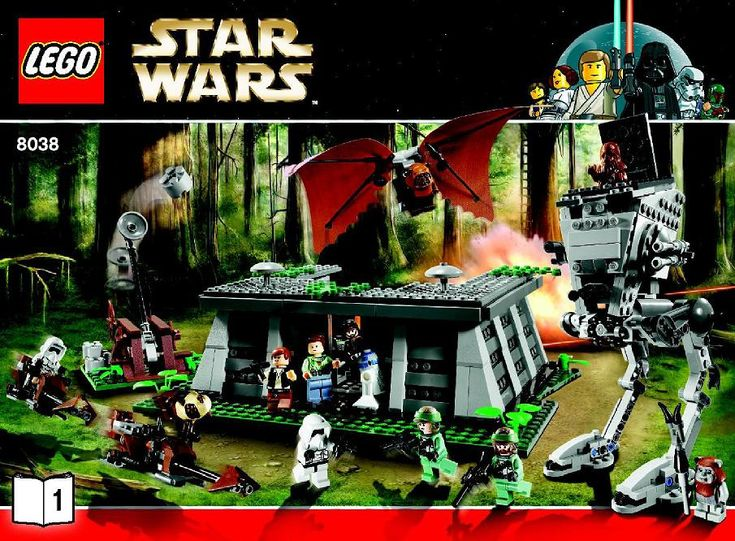 Star Wars - Battle Of Endor [Lego 8038]