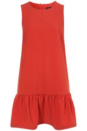 I need this dress: Drop Waist Shift Dress from Topshop!