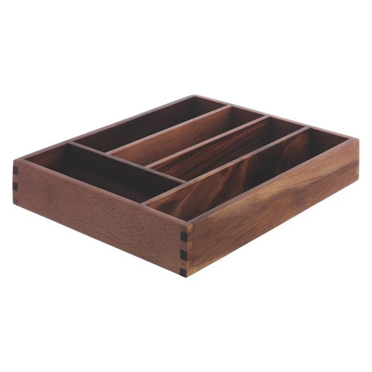 ABI Wooden cutlery tray | Buy now at Habitat UK
