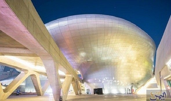 تصميم مجمع مباني جديد في عاصمة كوريا الجنوبية سيول Architecture Building Famous Architects