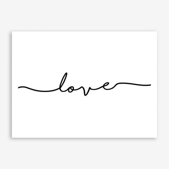Love Quote Landscape in 2019 | Bedroom | Free art prints