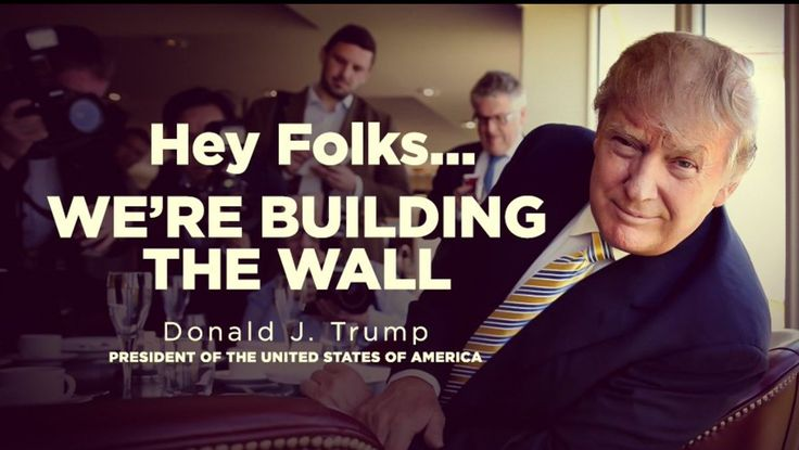BREAKING: The Trump Train Reacts To Wall Construction Starting Now ...