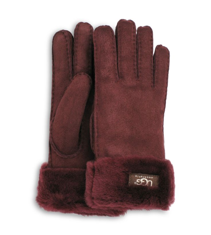 Ugg 174 Official Women S Turn Cuff Gloves Beware Of Fakes