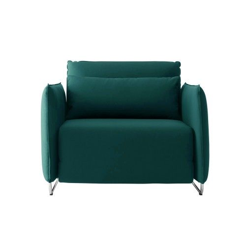 The Cord Single Sleeper Chair, by Softline is a compact single seater delight which displays all the classic qualities of Scandinavian furniture design - clean, classic and beautifully minimalistic.