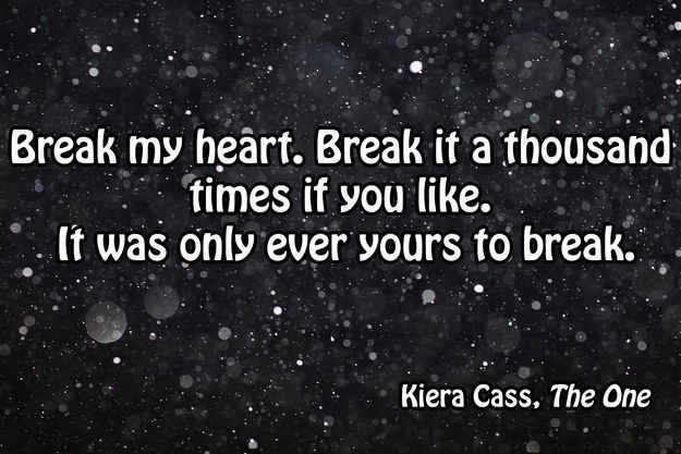 42 Of The Most Romantic Lines From YA Literature