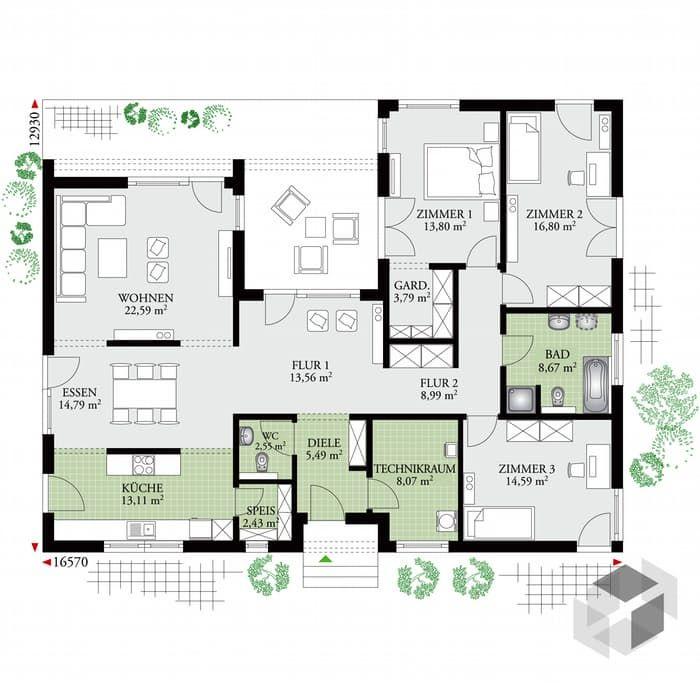 Die 25+ besten Ideen zu Grundrisse auf Pinterest | Haus pläne ...