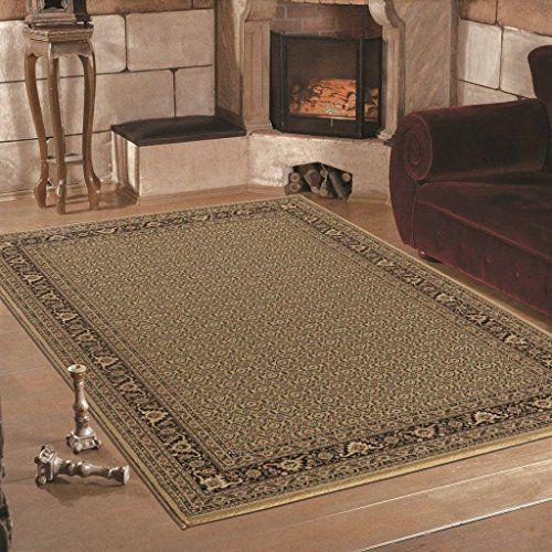 Teppich Wohnzimmer Orient Carpet Klassisches Design MARRAKESH RUG 80x150 Cm BEIGE