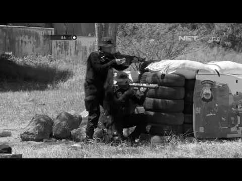 Latihan Pasukan Elite Polisi Wanita di Polda Sulawesi Selatan - 86