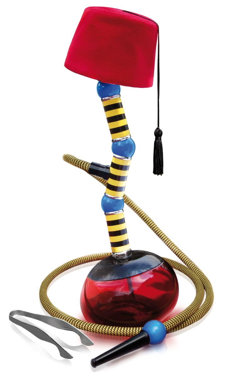 If Dr. Seuss Was Alive, He Would Rock The Fez Top Narghile Designed By