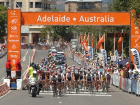 From 19-Jan-2014 to 26-Jan-201 The Santos Tour Down Under in Adelaide has some of the biggest names in world road cycling. Held in January, it's a week-long festival of cycling and entertainment