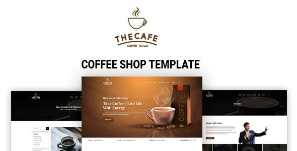 Coffee Shop Template Restaurant Website Templates Coffee Shop