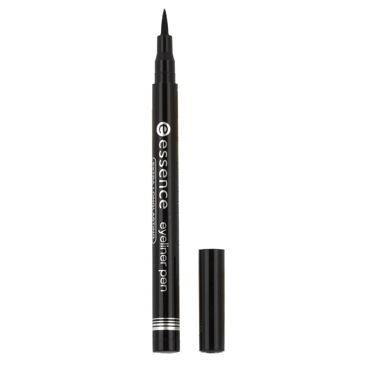 Essence Eyeliner Pen - I don't own this anymore, but this is what I used to practice eyeing liquid liner. If you are a beginner as well, I highly recommend this as a starter product. Especially since it's 2.49 CAD :)