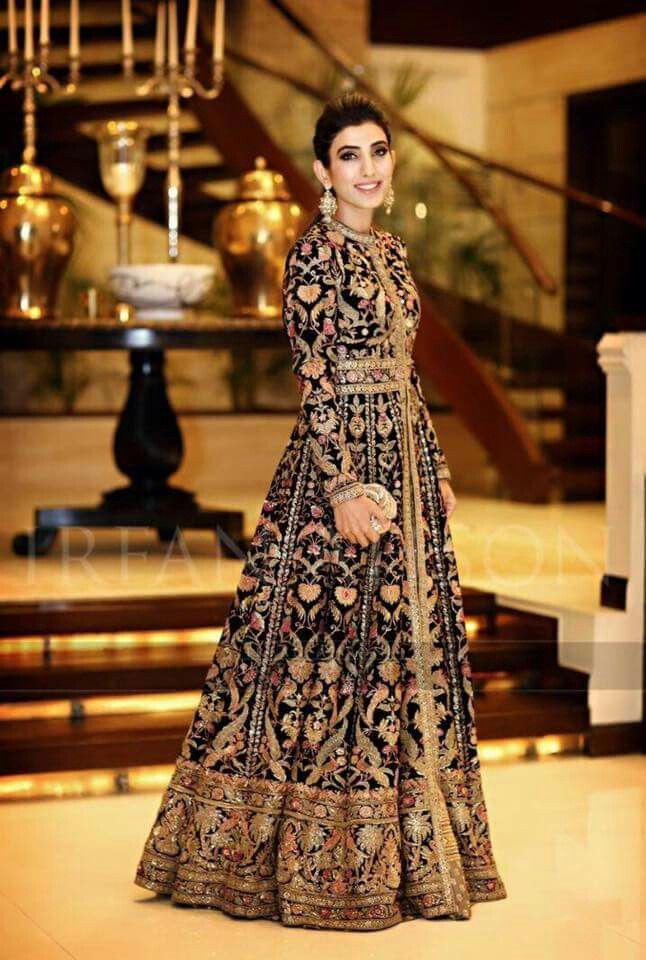 Indian Wedding Dress Modern, Bridal Anarkali