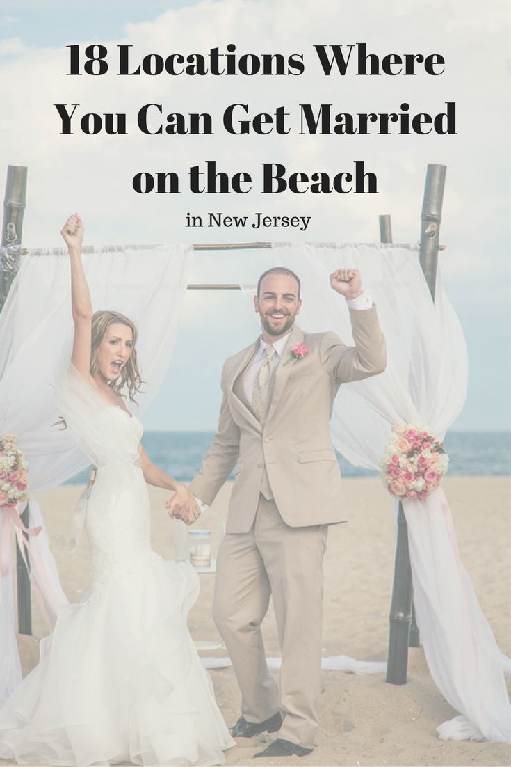 low budget wedding new jersey%0A Married on the Beach