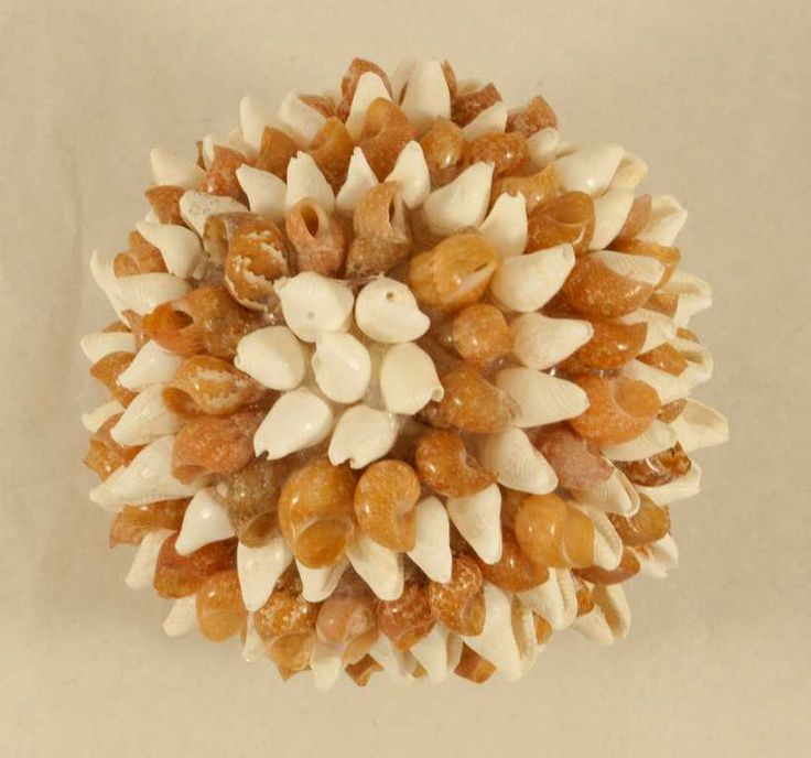 Ball decoration in shell diameter 6 cm di caryhandmade su Etsy
