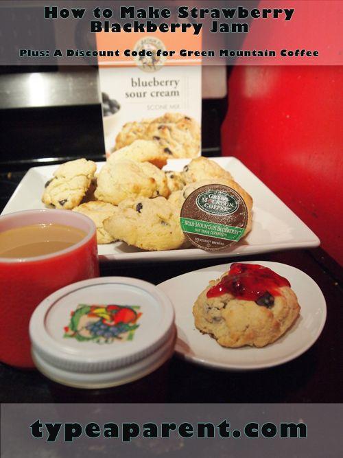 Strawberry Blackberry Jam RecipeJam Recipes, Blueberries Coffee, Mountain Blueberries, Strawberries Blackberries, Popular Recipe, Blackberries Jam Recipe, Homemade Strawberries