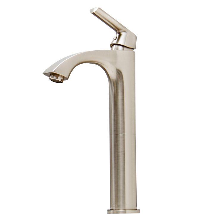 vigo linus bathroom vessel faucet in brushed nickel overstock shopping great deals on