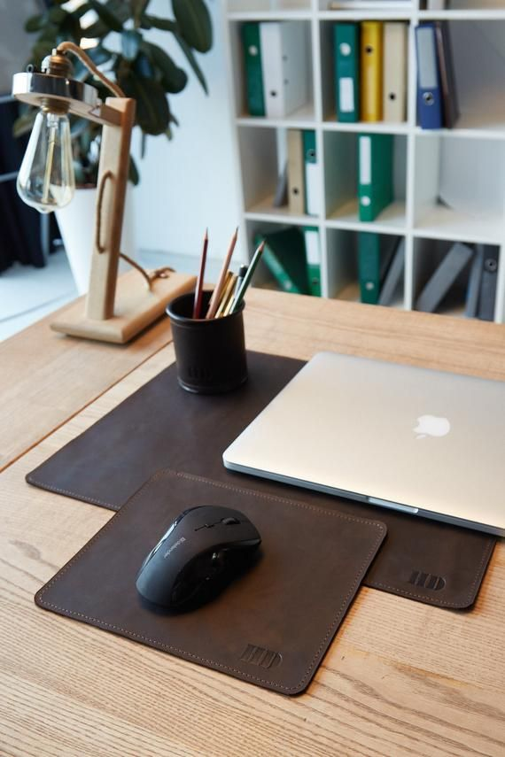 Pin On Personalized Leather Mouse Pad