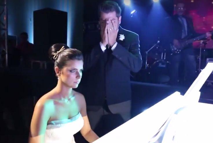 Noiva toca música do Iron Maiden em casamento para noivo metaleiro
