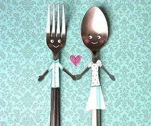 :) fork & spoon