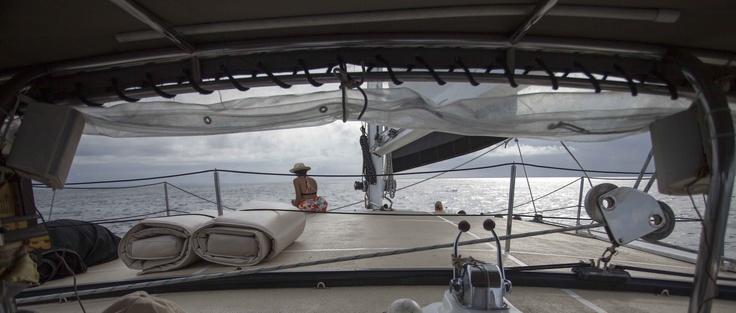 WakaSailing Sailing in Bali return from Nusa Lembongan